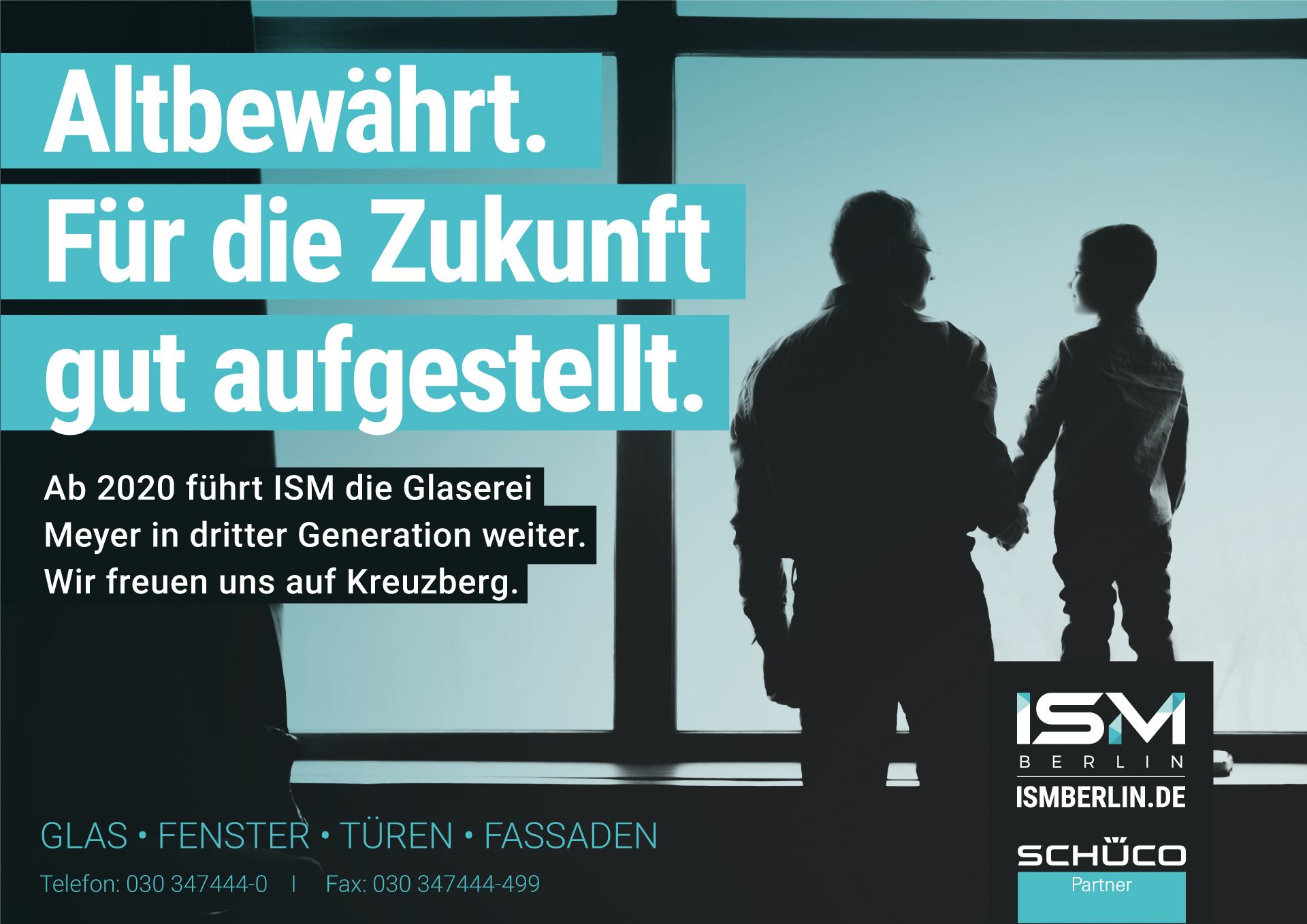 ISM führt die Glaserei Meyer in die 3. Generation