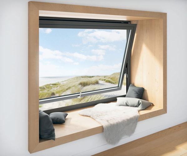 Fenster aus Alu